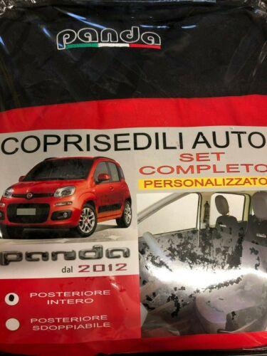 Schonbezüge Foderine Sitzbezüge Rot auf Maß Fiat Panda 2012 /> Kompletträder