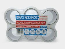 12 Rolls Packing Tape Clear 180 Ft Each Roll 2 Wide 27mil Heavy Duty Sealing