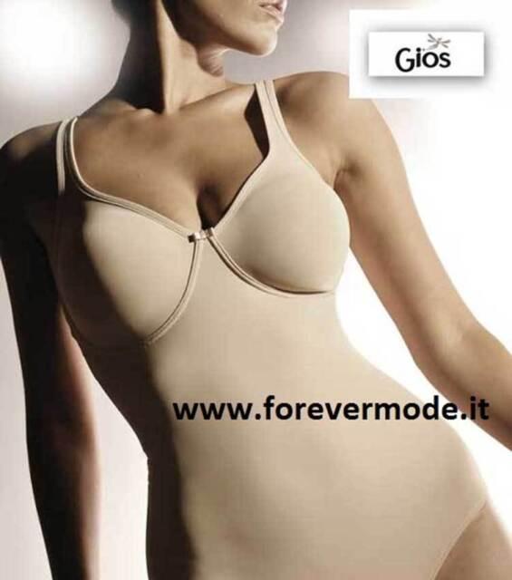 Body donna Gios senza ferretto non imbottito a contenimento forte art 506