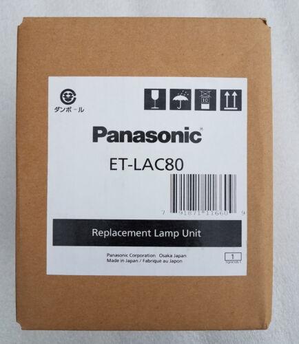 BRAND NEW GENUINE OEM PANASONIC ET-LAC80 REPLACEMENT LAMP UNIT