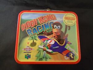 Diddy-Kong-Racing-Nintendo-64-N64-Lunchbox-Tin-BRAND-NEW-Sealed-RARE
