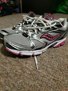 Silver/Black/Pink 15190-1 running shoes
