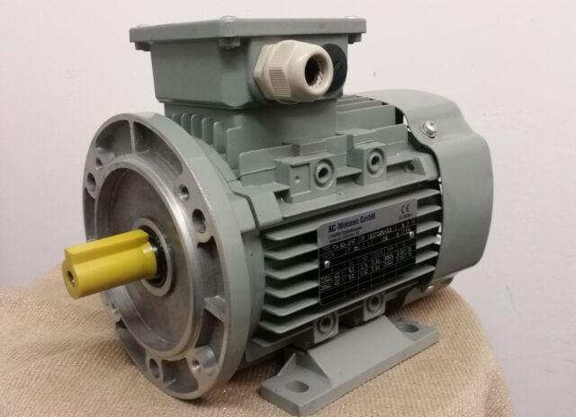 Elektromotor Drehstrommotor 0,18 kW 3000 U/min B3/B14 groß Volt 230/400 D/Y