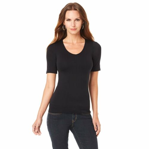 Rhonda Shear Seamless Short-Sleeve Top 356900-SS