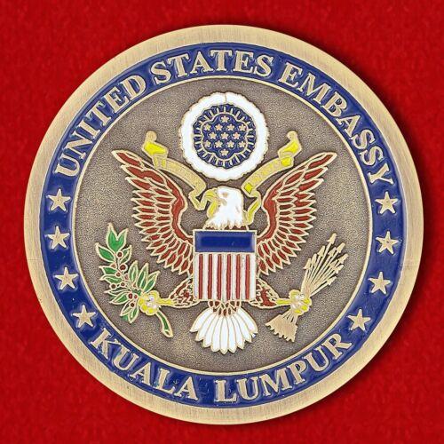 Embassy in Kuala Lumpur MALAYSIA COINS EMBASSY USA Challenge coin U.S