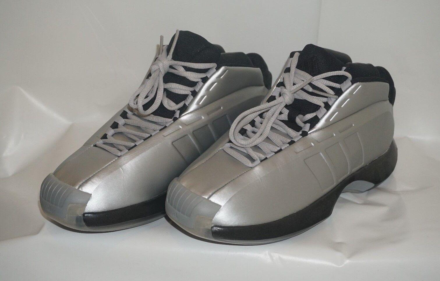 Men's Adidas CRAZY 1 BASKETBALL SHOES  - Size 8.5 US