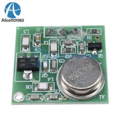 Practical DC 9V-12V Wireless FM Transmitter Board Module ZF-4 433.92MHz #P