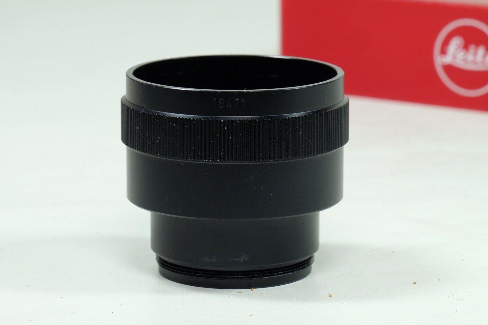 Leitz Leica OSTRO 16471J Extension Ring f 16464 Black