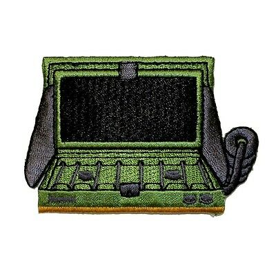 ID 0104 Camping Stove Patch Gas Burner Scouts Embroidered Iron On Applique