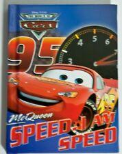 Disney Cars 1 Lightning McQueen I Am Speed Small Memo Book Autograph Book