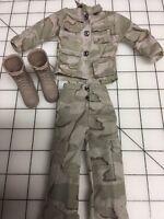 1/6 Camouflage Uniform Set 12 Figures Hot 1:6