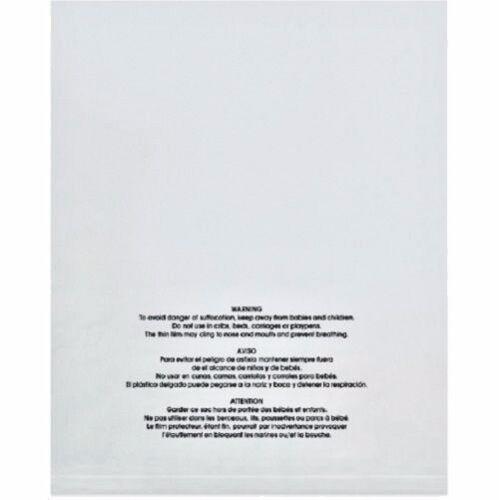 "300 12x17/""Amazon FBA ApproveResealable Suffocation Warning Bags 3 Language"