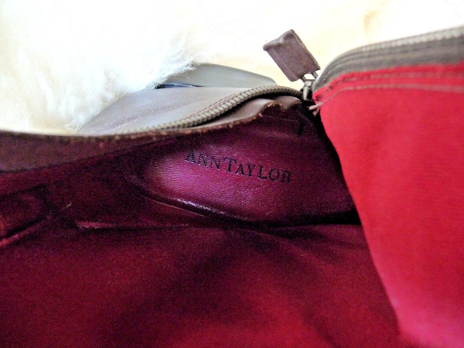 Ann Stiefel Taylor Leder Knee High Riding/Walking Stiefel Ann ff7431