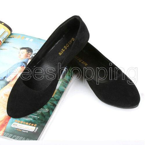 Lady Ballerina Slippers Loafer Flat Dolly Sweet Shoes Women Ballet Slip-on Flats