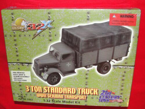 The Ultimate Soldier 3 Ton Standard Truck WWII German Transport 1:32 Model Kit