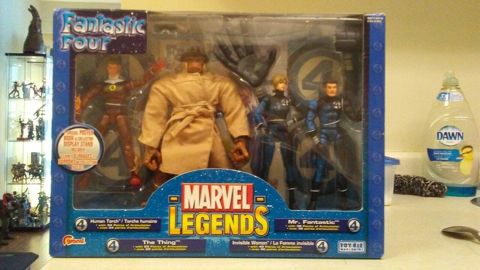 Marvel Legends Fantastic Four Boxset