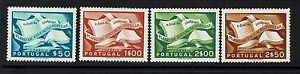 Portugal-SC-794-797-Mint-Hinged-Dry-Gum-Spots-on-795-amp-796-090415
