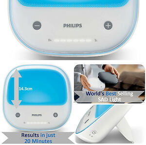 new philips golite blu hf3431 rechargeable energy light therapy rh ebay co uk Philips DVD Player Manual Philips Universal Remote User Manual