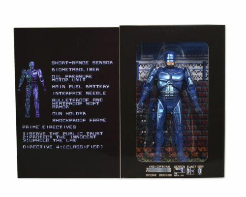NECA Robocop 1987 Video Games Figure Collection Geek Statue