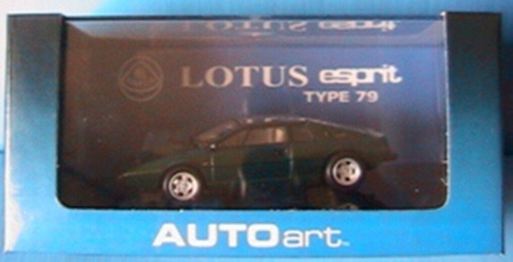 LOTUS ESPRIT TYPE 79 S1 DARK vert AUTOART   55312 1 43 VERTE NEW GRUN vert