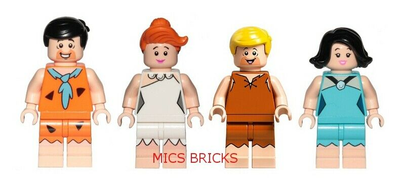 LEGO 21316 - The Flintstones - Frot, Wilma, Barney & Betty - Mini Figures