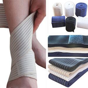 Genou-coude-poignet-soutien-cheville-enveloppe-sport-bande-de-compression-Fw