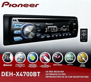 Pioneer DEH-X4700BT CD Receiver Drivers Mac