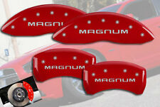 "2005-2008 Dodge ""Magnum"" SE SXT Front + Rear Red MGP Brake Disc Caliper Cover"