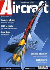 Aircraft Illustrated 2002 November VC10,Hong Kong,RCAF,Culdrose