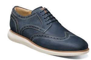 Florsheim-Mens-Walking-Shoes-Fuel-Wingtip-Oxford-Indigo-14238-401