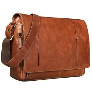 Image Is Loading Stilord 034 Erik Vintage Shoulder Bag Leather