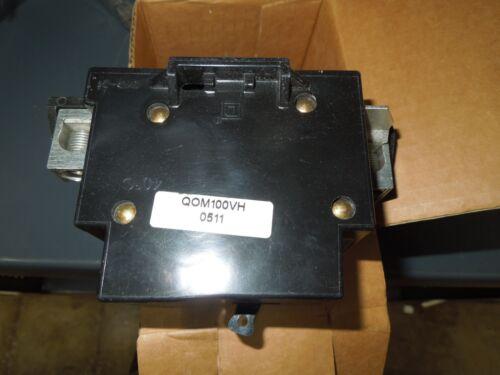 Square D QOM100VH 100A 2P 240V Breaker New Surplus in Box