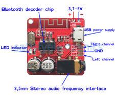 1PCS 3.7-5V Bluetooth Audio Receiver Amplifier Module Precise MP3 Decoder NEW