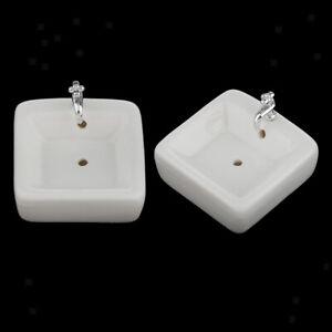 2Pcs-1-12-Scale-Mini-Wash-Basin-Sink-Simulation-Doll-House-Model-Decorative
