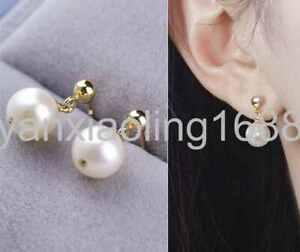 Pair Of Natural Silk Earrings