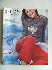 DELIA'S CATALOG In The Spirit Holiday Cassie Ventura Diamond Supply Co 2002