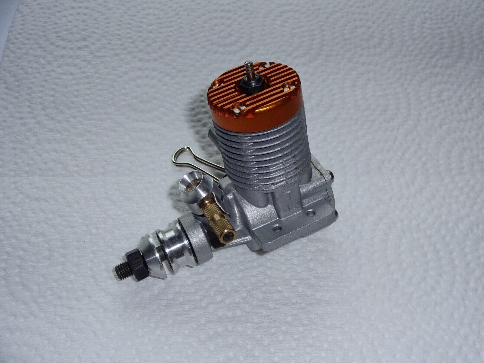 Vintage Gordon Burford Taipan guldhead 21 .21 C L Engine; Taipan 3.5cc Engine
