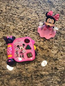 Elegant Image Is Loading Lot Of 2 Baby Girl Toys Disney Minnie