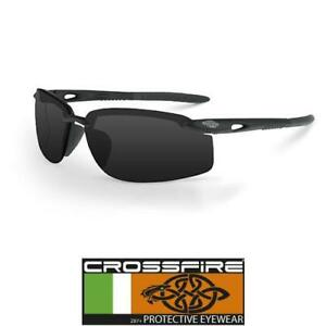 New Crossfire Eyewear 2169 Es4 Safety Glasses High Definition Red Mirror Lens Home & Garden Glasses, Goggles & Shields