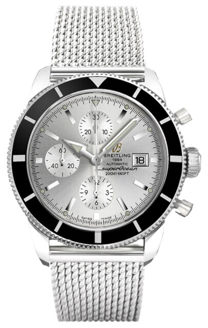 NEW BREITLING SUPEROCEAN HERITAGE CHRONOGRAPH 46 MENS WATCH A1332024/G698-152A