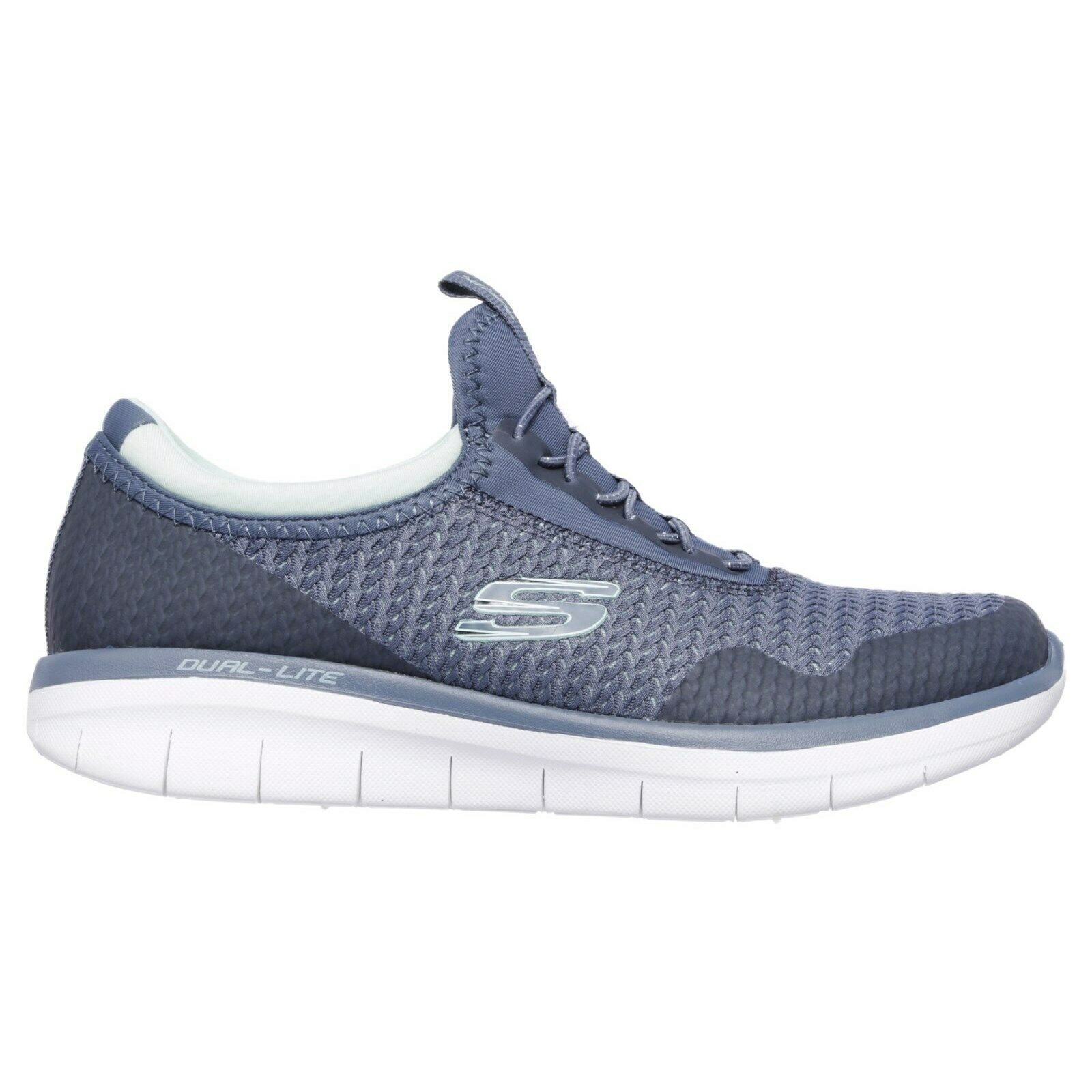 Skechers Synergy 2.0 Mirror Image Trainers Memory Foam Mesh Sports Womens shoes