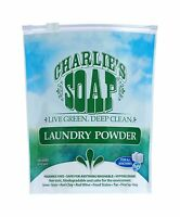 Charlie's Soap - Eco Friendly Laundry Powder - 2.64 Lbs - 100 L... Free Shipping