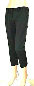 Pantaloni Capri Donna MET Italy CA71 Gamba Dritta Nero Tg 25 27 28 veste grande