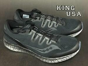 e483aacc4ebc Men s Saucony Freedom ISO S20355-1 Running Athletic Shoes Black