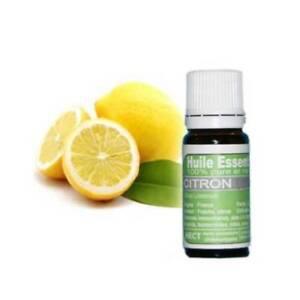 Huile essentielle de citron 10 ml 100 % pure et naturelle 100% chémotype