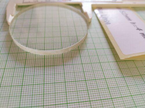 6 Stück d=52mm h=4mm Plan Optische Linse Optik 3D aus Glas