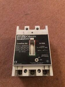 DORMAN SMITH LOADMASTER SERIES 15 63 AMP TRIPLE POLE MCB CIRCUIT BREAKER LM3P63