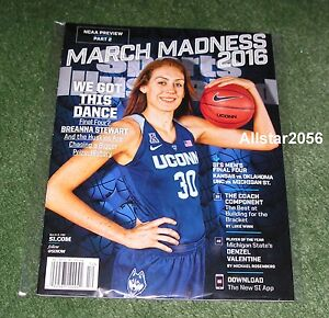 2016 BREANNA STEWART~SPORTS ILLUSTRATED~MARCH MADNESS ...