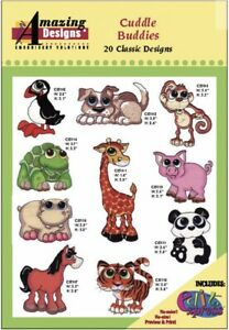 Amazing-Designs-Cuddles-Buddies-20-Classic-Designs-ADC-95-Brand-New-Factory-Seal