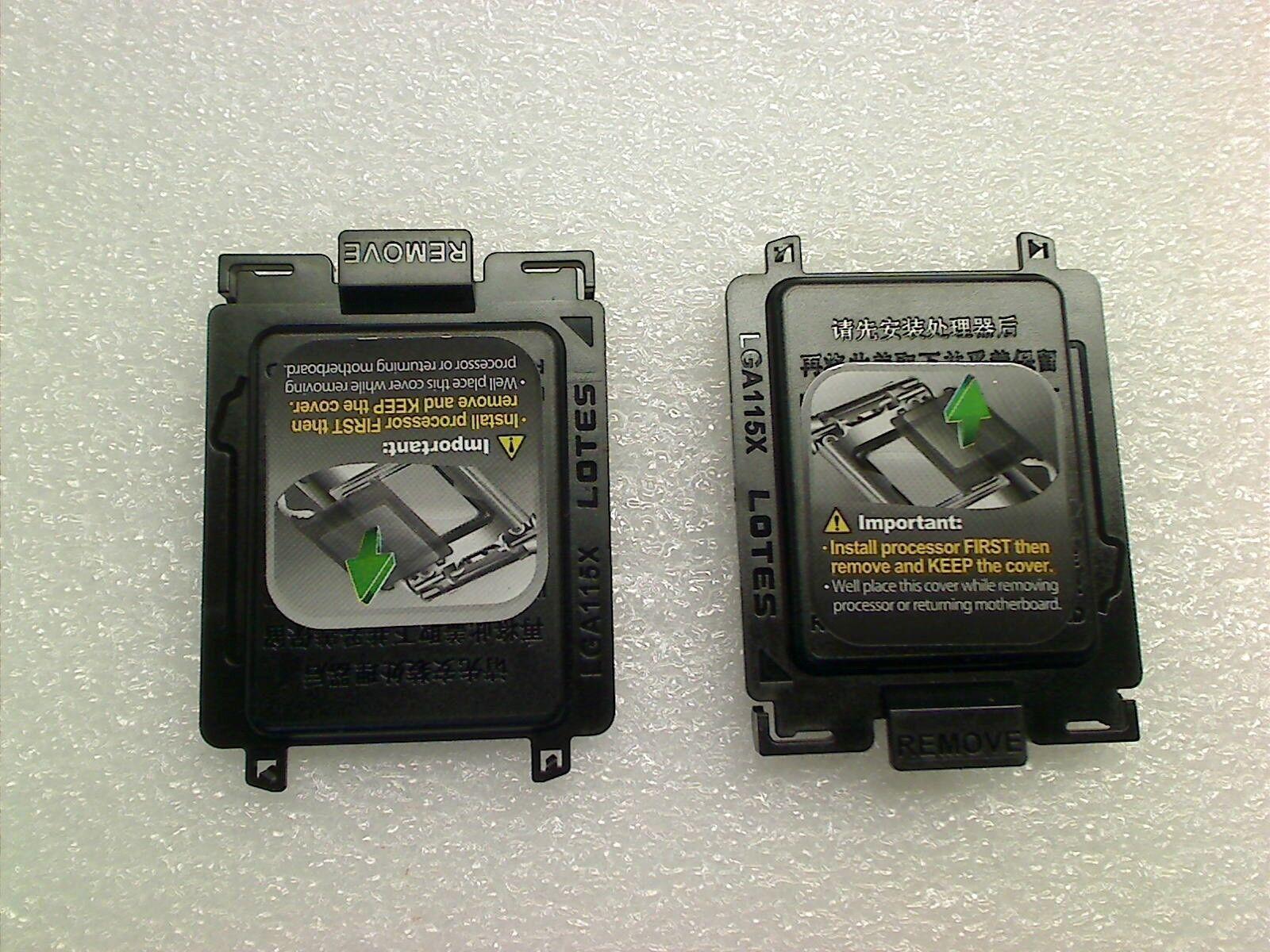 Intel LGA1150 LGA1155 1156 CPU Processor Socket Protector Cover FOXCONN LGA115X